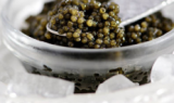 how to serve caviar