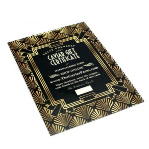 caviar gift card