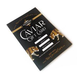 Caviar Gift Cards