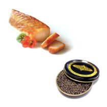 Caviar & Smoked Sturgeon Duo $130