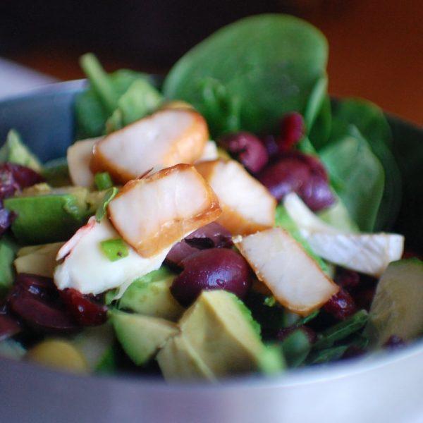 sturgeon-salad