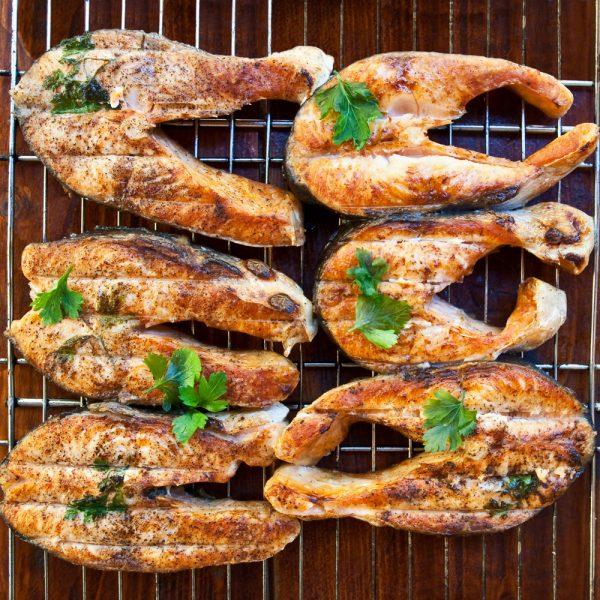 sturgeon-grilled